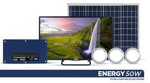 Niwa 32″ / 24″ TV & 50W Solar System