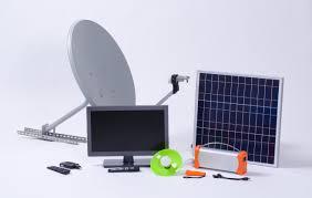 Omnivoltaic ovCamp 19in TV Pack w/Satellite Decoder