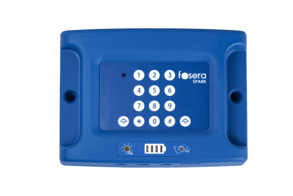 fosera spark solar home system pay as you go keypad