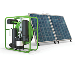 Futurepumpn SF2: Solar water pump that provides solar-powered irrigation for smallholder farmers