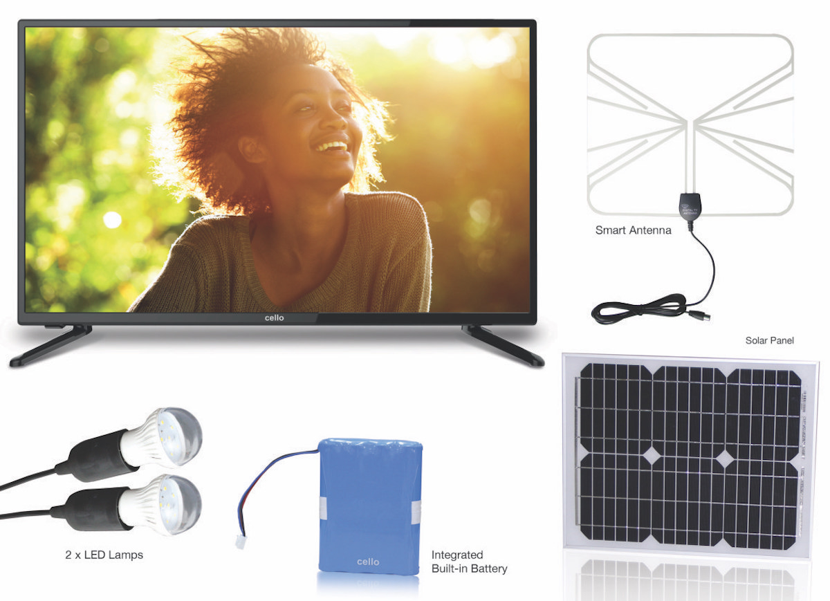 cello solar tv