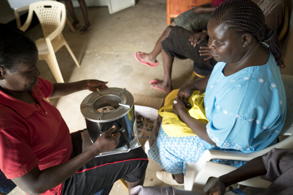 Last-mile distribution of a clean cookstove