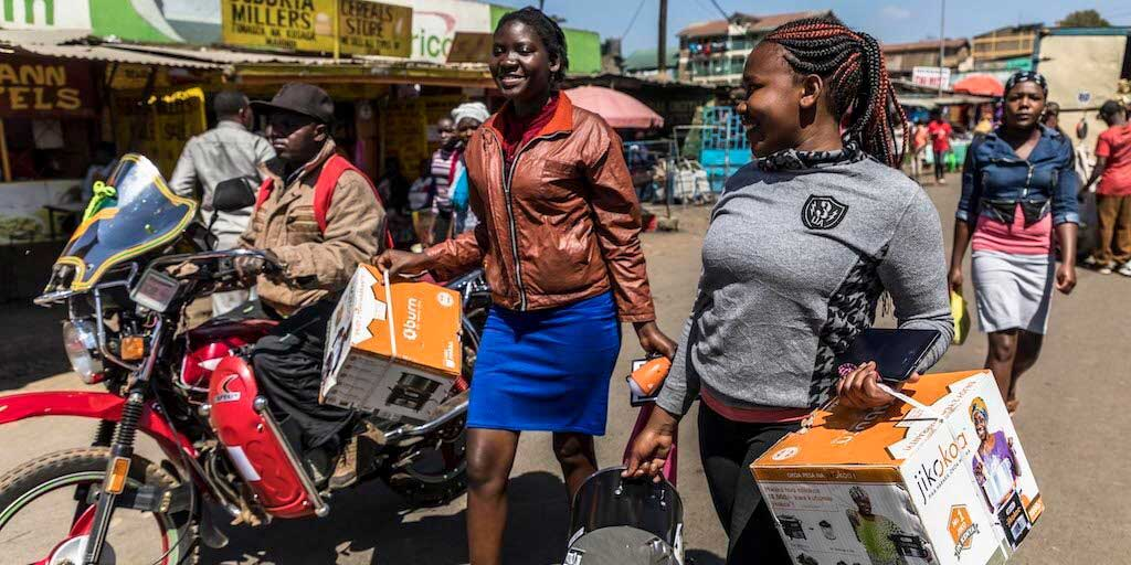 Sima Angaza Distirbutor Finance Fund strives to close the gender gap in last-mile markets with data-driven lending