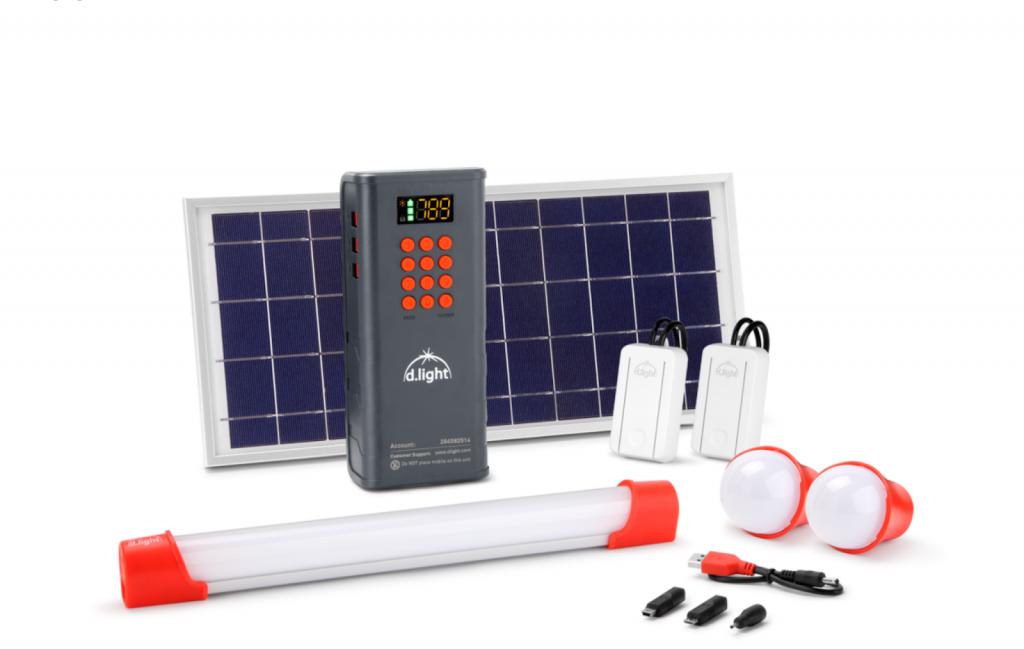 d.light D100 solar home system