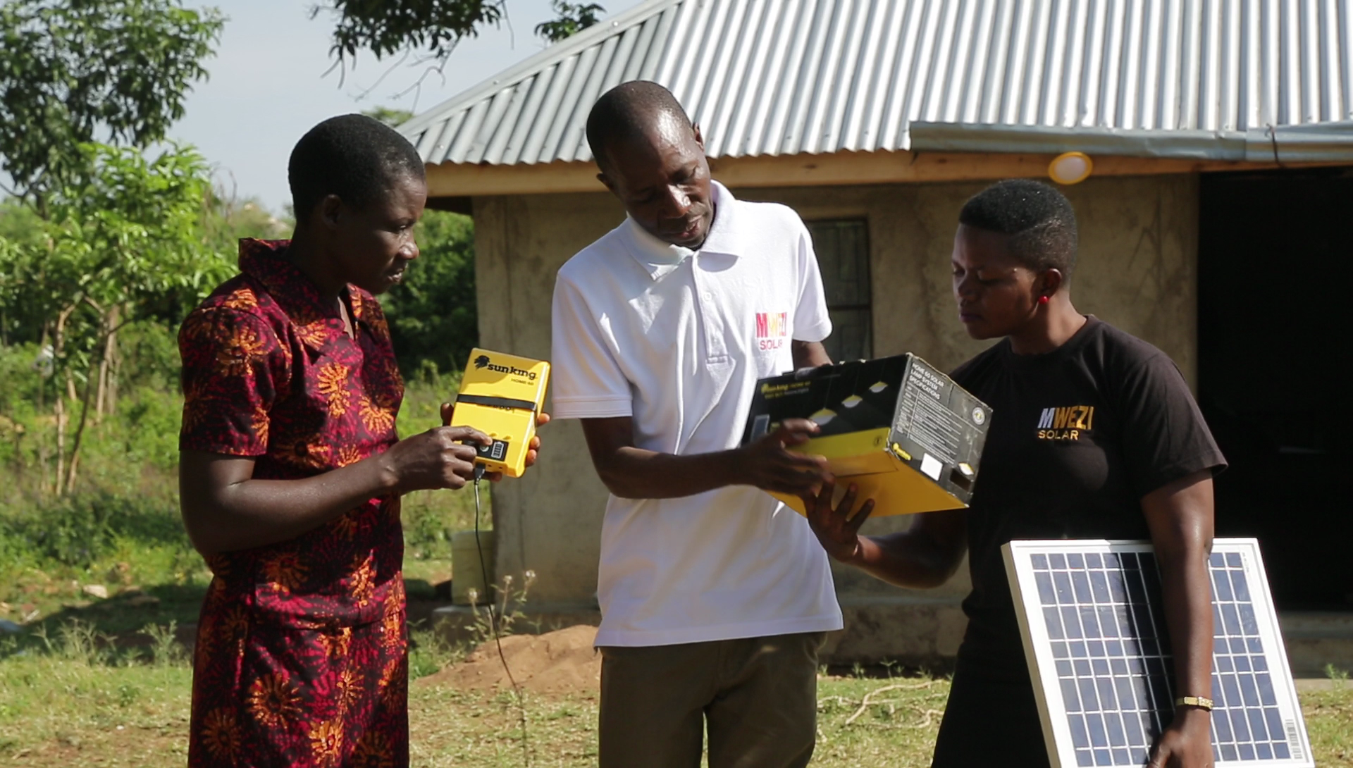 SIMA Angaza DFF provides funding for Mwezi, which distributes a variety of products in last-mile markets