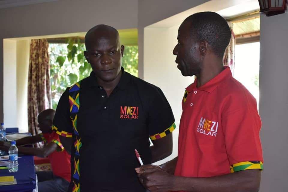 SIMA Angaza DFF invests in Mwezi's operational team.