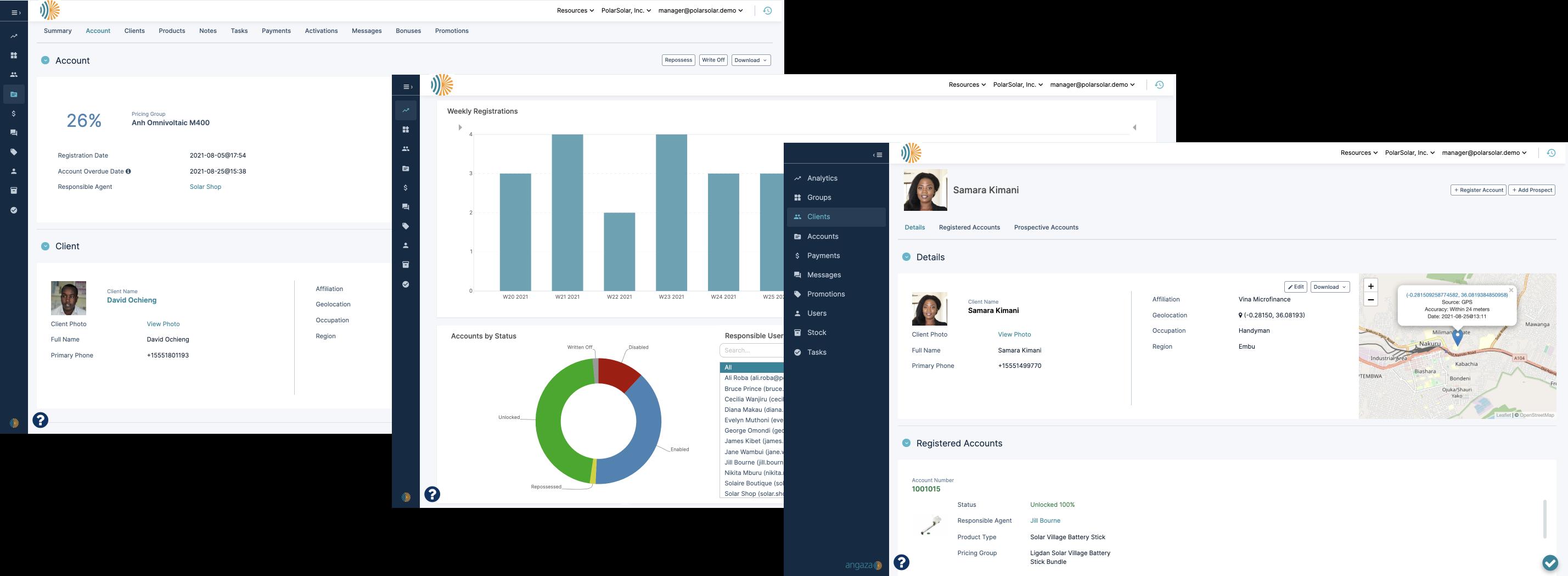 New Angaza Platform Experience in the Hub